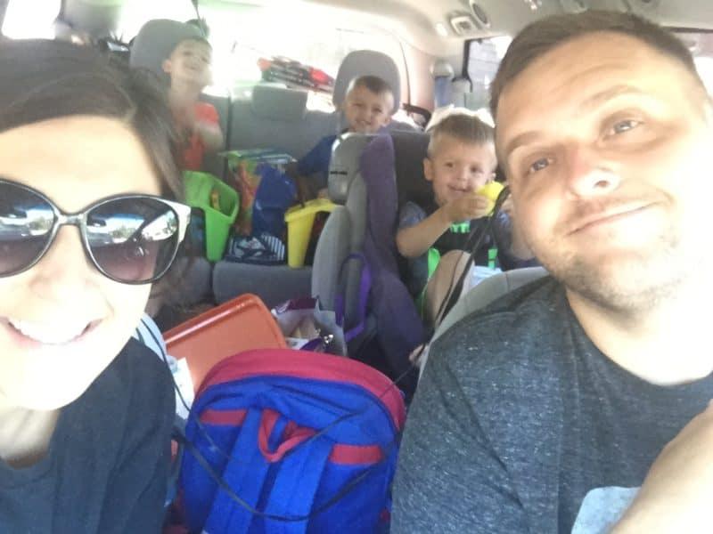 First Road Trip Van