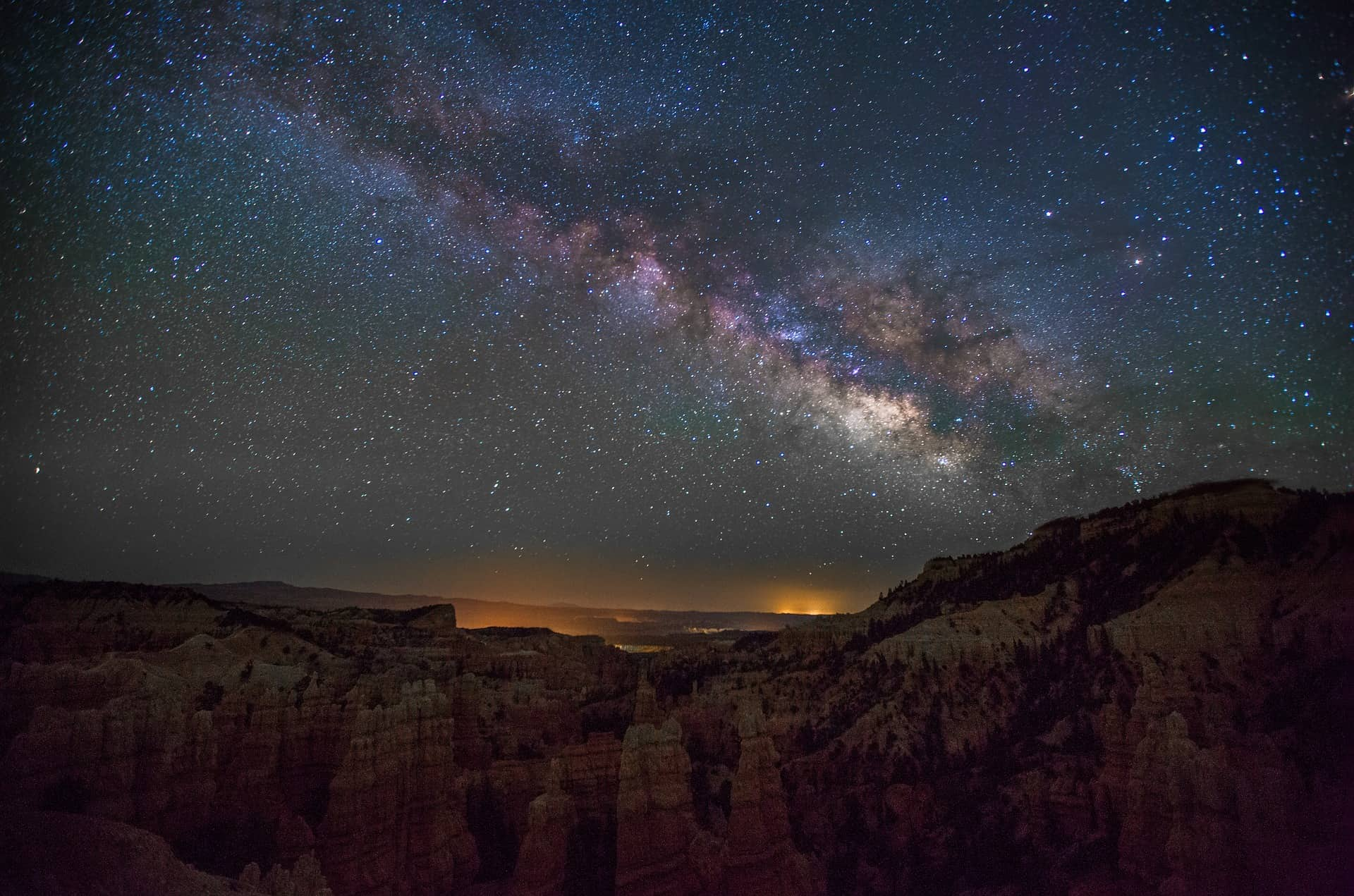 Night Sky Bryce Canyon