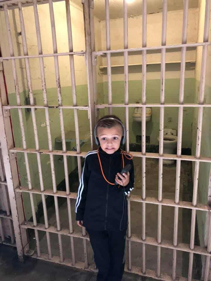 Hudson at Alcatraz