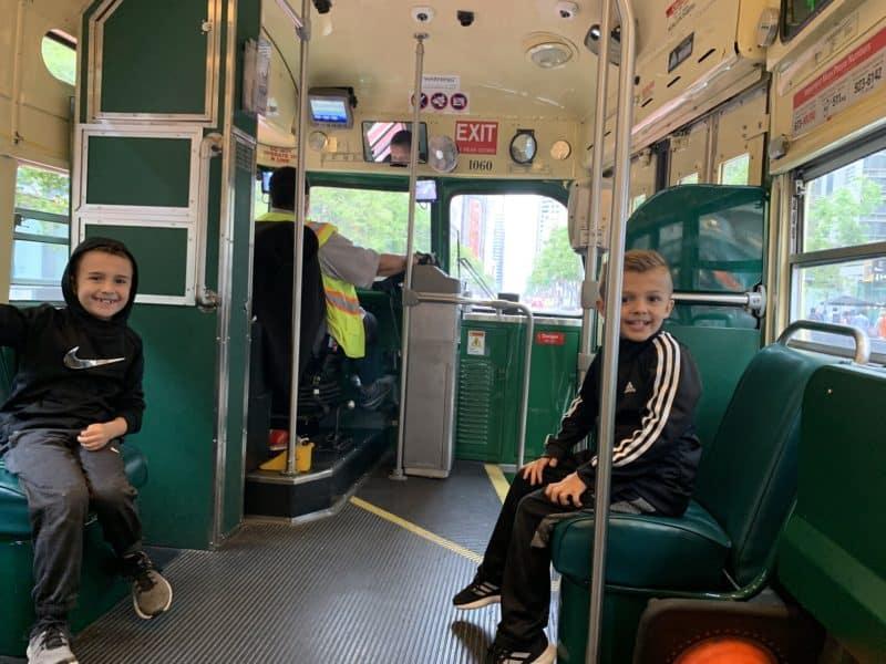 Streetcars in San Fran