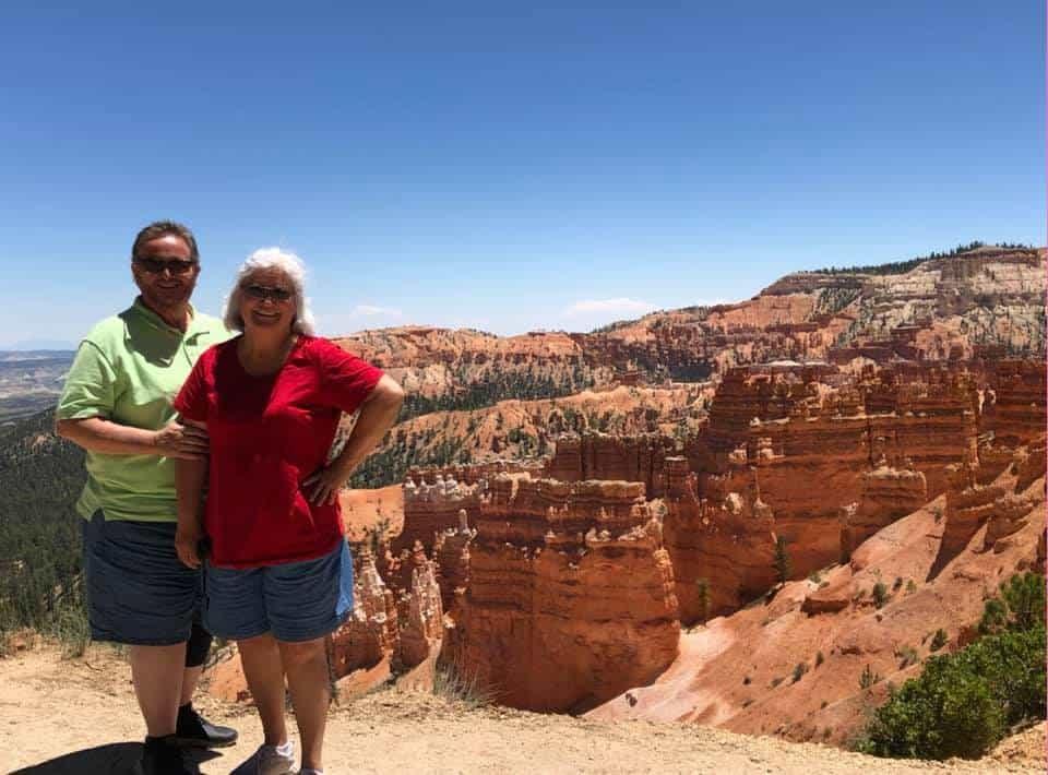 Mom Dad Bryce Canyon
