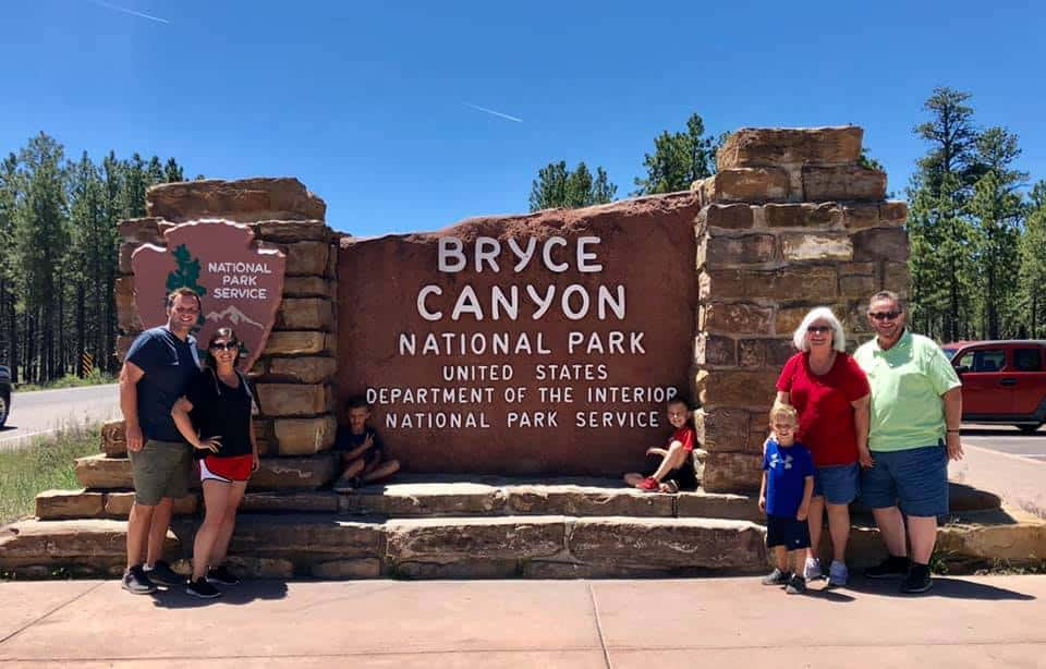 Bryce Canyon Entrance Sign