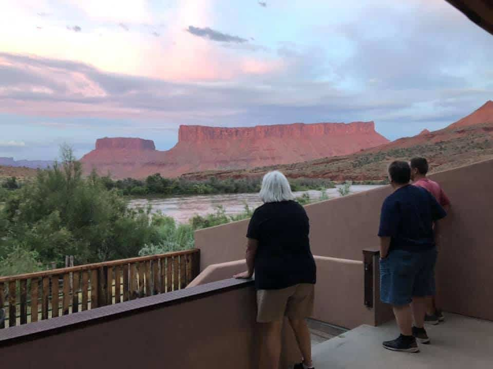 View From Deck Red Cliffs Lodge