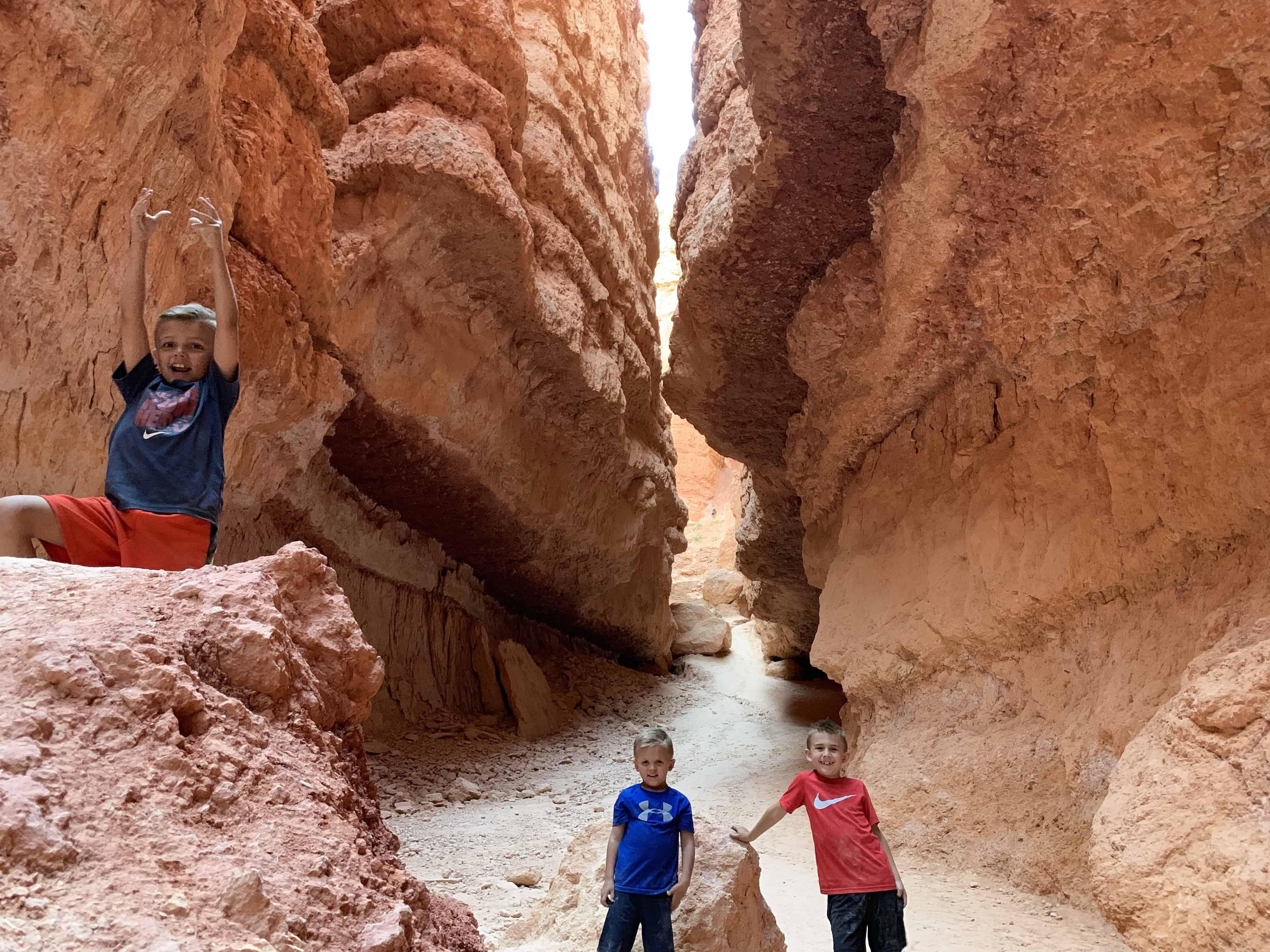 Bottom of Navajo Loop