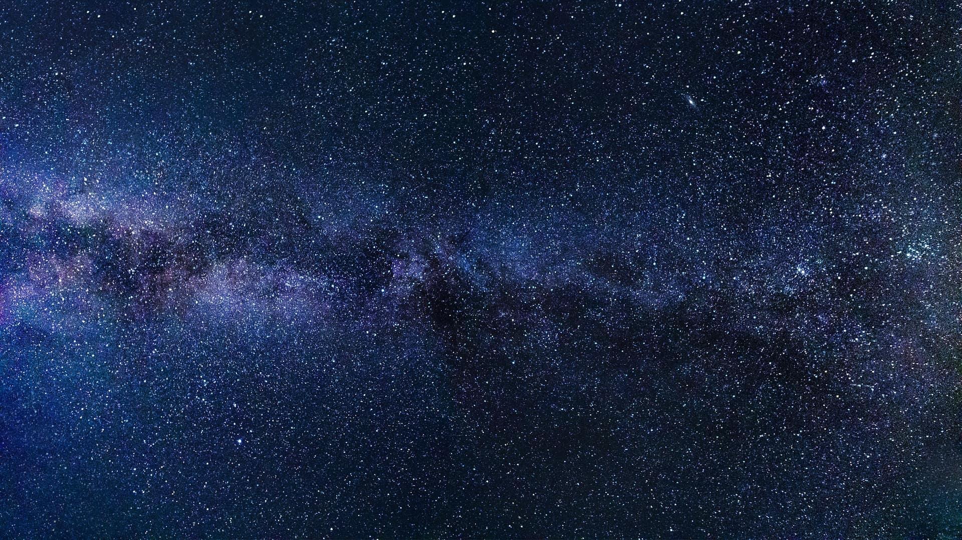 Night skies milky way