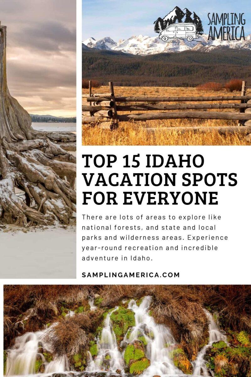 Best Vacation Spots In Idaho
