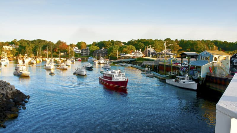 Discover Blue Waters And Small-Town Homes: 13 Maine Vacation Spots