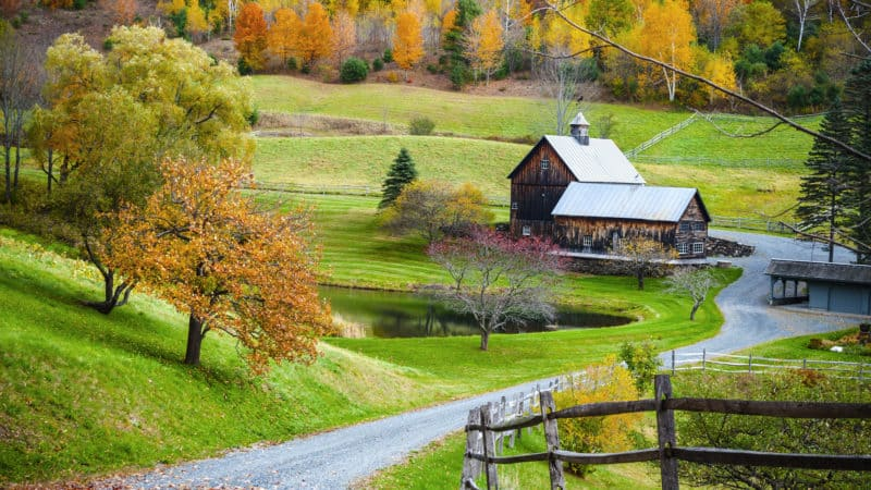 Top 15 Vermont Vacation Spots