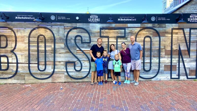 Road Schooling Boston: Freedom Trail, Family Time & Studying at Harvard