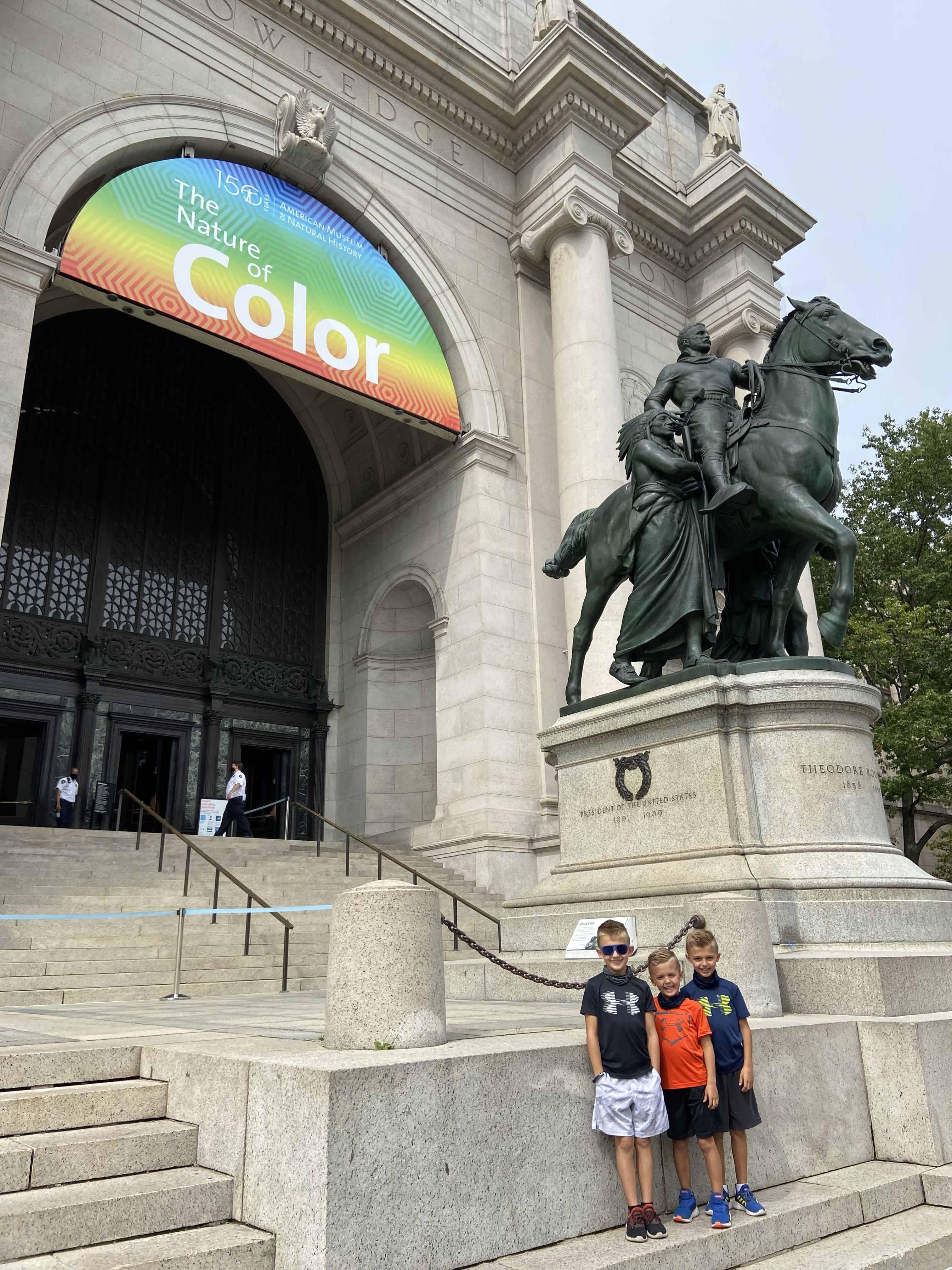 Teddy Statue
