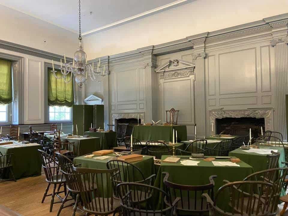 Constitution room